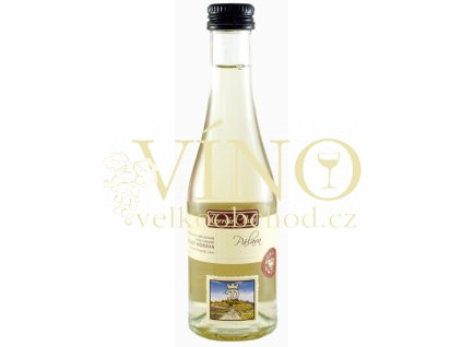 Moravské bílé Pálava TC 25/11 výběr z hroznů polosladké 2011 0.2 L vinařství U Kapličky