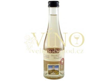 Moravské bílé Muškát moravský TC 4/12A kabinetní suché 2012 0.2 L vinařství U Kapličky