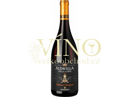 """Firriato """"Altavilla della Corte"""" Cabernet Sauvignon Terre Siciliane italské červené víno z oblasti Sicilia"""