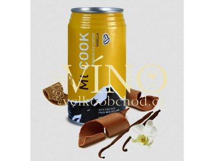 Mt COOK Vanilla premium ice coffee 340 ml ledová káva