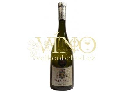 Moravské víno RUDGERUS pozdní sběr 2011 polosuché 0.75 L Kořínek