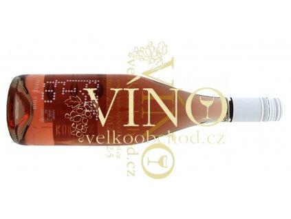 Akce ihned Perlí to Pinot Noir rosé 2012 polosuché růžové víno 0,75 L