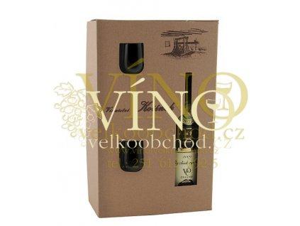 Moravské víno Dárkové balení dvou sklenic OIV 0.75 L Kořínek