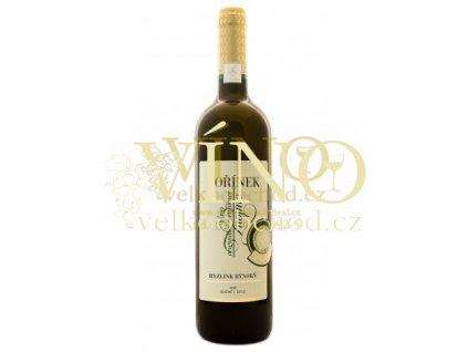Moravské víno Ryzlink rýnský VOC 2012 suché 0.75 L Kořínek
