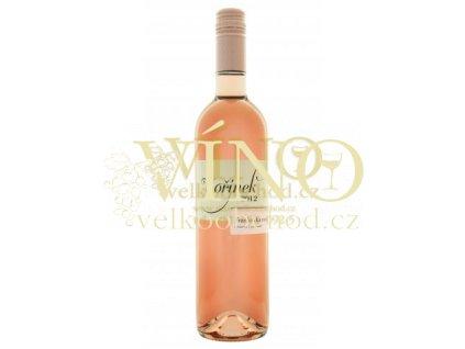 Moravské víno Frankovka rosé 2012 kabinet polosuché 0.75 L Kořínek