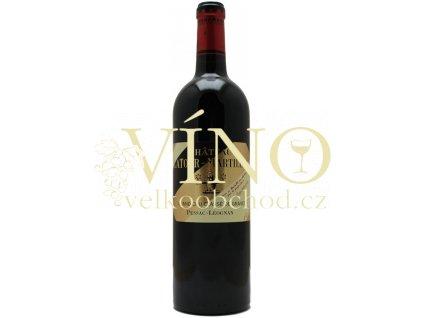 Chateau Latour-Martillac Grand Cru Claséé 0,75 l suché červené francouzské víno z Bordeaux 2017 Pessac-Leognan