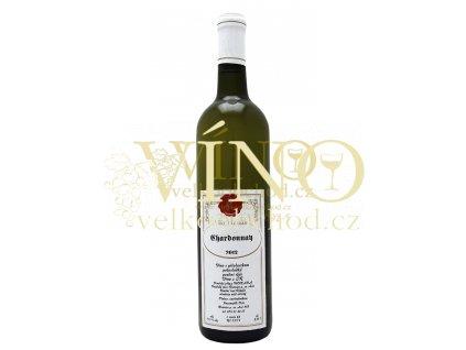 Moravské bílé víno Chardonnay pozdní sběr 2012 0.75 L vinařství Kozumplík