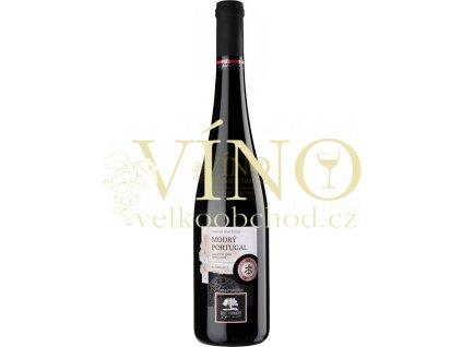 Livi Dubňany Modrý Portugal 2014 zemské 0,75 L suché moravské červené víno