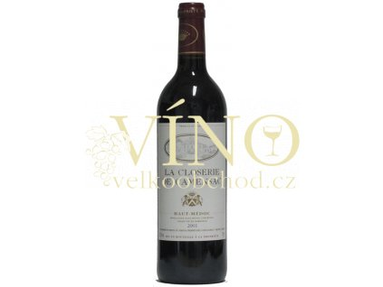 Veyret Latour La Closerie de Camensac AOC 0,75 L suché francouzské červené víno z Bordeaux Haut Medoc