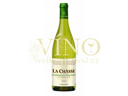 Gabriel Meffre víno La Chasse Chardonnay Viognier IGP 0,75 l suché francouzské bílé víno z Languedoc Roussillon