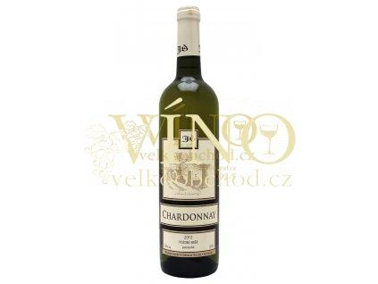 Chardonnay pozdní sběr 2012 polosuché Šlichta vinařství 0.75 L