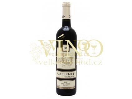 Cabernet Sauvignon výběr z hroznů 2012 polosuché Šlichta vinařství 0.75 L