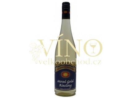 Schmitt Söhne Mosel Gold Riesling QbA 0,75 l polosladké německé bílé víno z Mosel