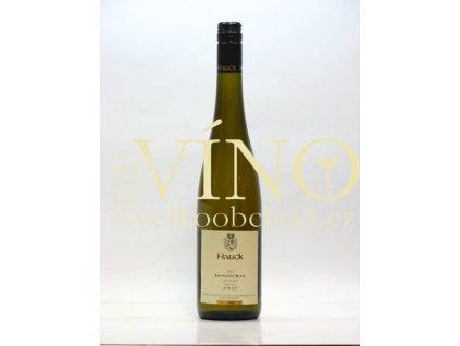 Weingut Hauck Sauvignon Blanc Spatlese Trocken QmP 0,75 L suché německé bílé víno z Rheinhessen