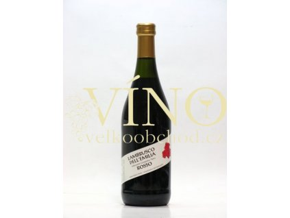 Cazzano di Tramigna Lambrusco rosso IGT 0,75 L sladké italské šumivé víno z Emilia Romagna