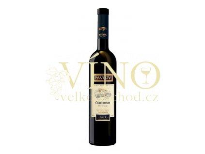 Vinařství Pavlov Chardonnay 2012 pozdní sběr polosuché bílé víno 0,75 L