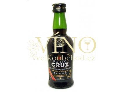 Cruz Porto Tawny 0,2 L červené sladké portské víno z Douro
