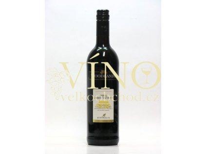 Woodlands Winery Shiraz Cabernet Sauvignon 0,75 l suché australské červené víno z Riverina