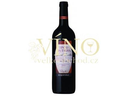 Roquevale Tinto da Talha Grande Escolha 0,75 L suché portugalské červené víno z Alentejo