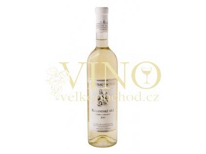 Vinné sklepy Valtice Rulandské bílé 2013 výběr z hroznů 0,75 l suché bílé víno