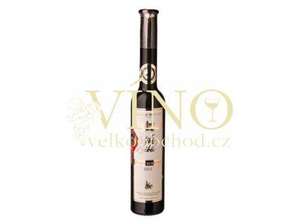 Vinné sklepy Valtice Muškát Moravský 2011 výběr z cibéb - botrytický sběr 0,2 l sladké bílé víno