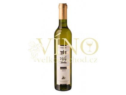 Vinné sklepy Valtice Rulandské bílé 2013 výběr z bobulí 0,5 l sladké bílé víno