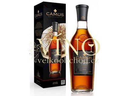 Akce ihned Camus V.S.O.P. Elegance 0,7L 40% koňak + giftbox