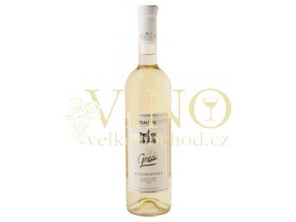 Vinné sklepy Valtice Gracie Ryzlink rýnský 2015 pozdní sběr 0,75 l polosuché bílé víno