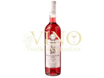 Vinné sklepy Valtice Rulandské modré rosé 2015 pozdní sběr 0,75 l polosuché růžové víno