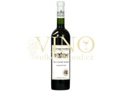Vinné sklepy Valtice Rulandské modré 2013 kabinetní 0,75 l suché červené víno