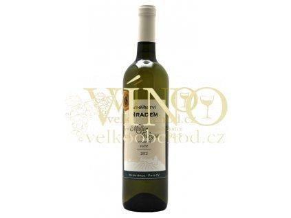 Müller Thurgau 2012, kabinetní, suché víno 0.75 l, Vinařství pod Hradem