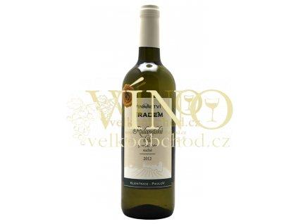 Rulandské bílé 2012, pozdní sběr, suché víno 0.75 l, Vinařství pod Hradem