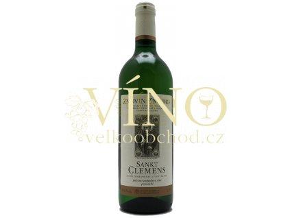 Znovín Znojmo Sankt Clemens známkové 0,75 l polosuché bílé víno