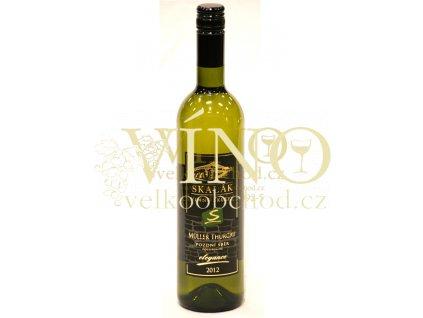 Vinné sklepy Skalák Müller Thurgau 2012 pozdní sběr 0,75 L polosuché bílé víno