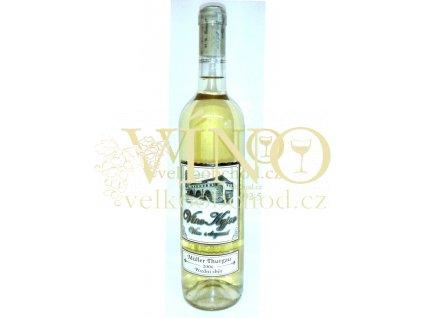 Vinné sklepy Skalák Müller Thurgau 2006 pozdní sběr 0,75 L polosuché bílé víno