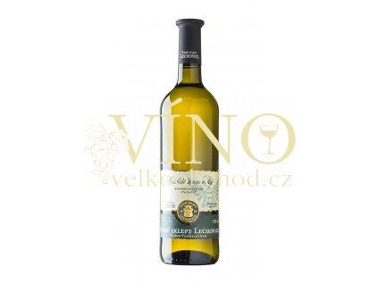 Znovín Znojmo Muškát moravský – moravské zemské víno 0,75 l Vinné sklepy Lechovice
