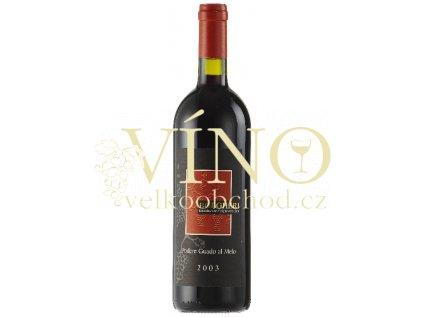 Víno Bolgheri Guado al Melo DOC 2009 0.75 L PODERE GUADO AL MELO