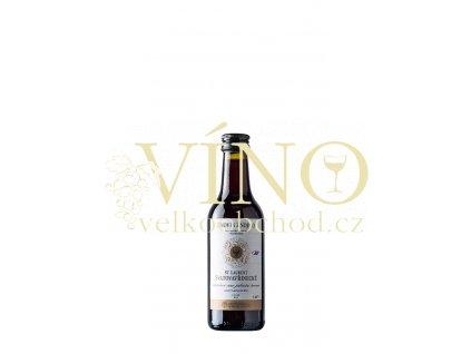 Znovín Znojmo Svatovavřinecké jakostní 0,187 l suché červené víno