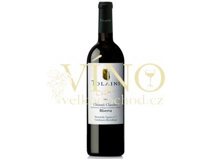 Víno Chianti Classico Riserva DOCG 2009 0.75 L TOLAINI
