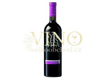 Tola Syrah IGT 0,75 l suché italské červené víno ze Sicílie