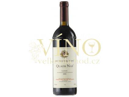 Víno R. Quatr Nas Langhe DOC 2006 0.75 L P. ROCCHE DEI MANZONI