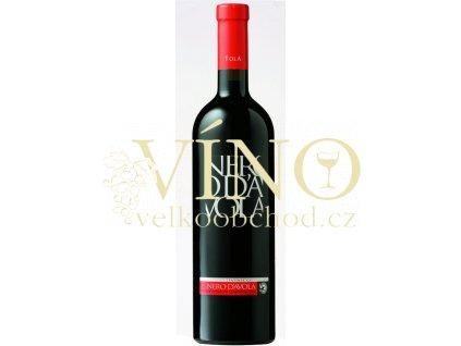 Tola Nero d'Avola IGP 0,75 l suché italské červené víno ze Sicílie