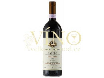 Víno Barolo Riserva Vigna d´La Roul DOCG 2006 0.75 L P. ROCCHE DEI MANZONI