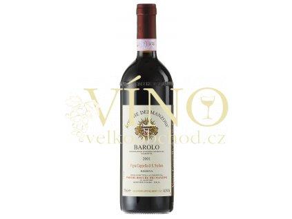 Víno Barolo Riserva Vigna Cappella di S. Stefano 2008 0.75 L P. ROCCHE DEI MANZONI