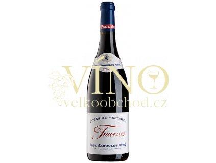 Paul Jaboulet Ainé Côtes du Ventoux Les Traverses AOC 0,75 L suché francouzské červené víno z Cotes du Rhone
