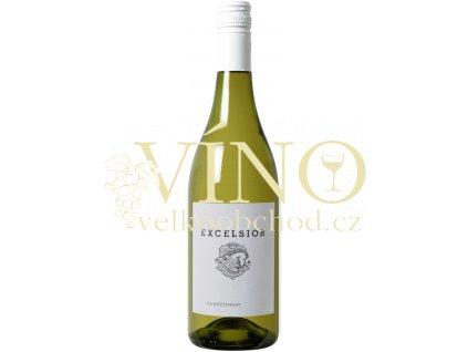Excelsior Estate Chardonnay 0,75 L suché jihoafrické bílé víno z Robertson