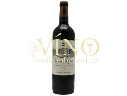 Château Belgrave 5ème Cru Classé 0,75 L suché francouzské červené víno z Bordeaux Haut-Medoc