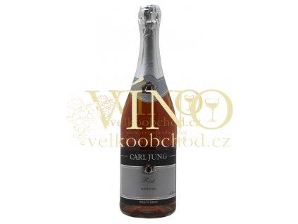 Carl Jung Rosé Mousseux dealcoholized nealkoholické 0,75 l suché německé šumivé víno