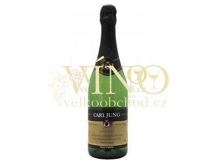 Carl Jung Demi-Sec Mousseux dealcoholized nealkoholické 0,75 l polosuché německé šumivé víno