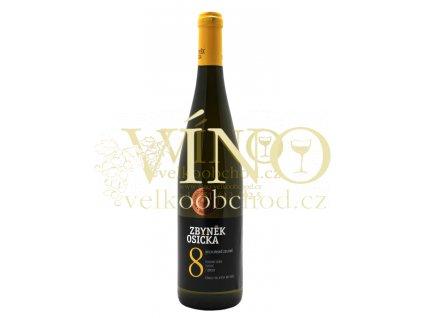 Zbyněk Osička Veltlínské zelené 2013 pozdní sběr 0,75 L suché moravské bílé víno Velké Bílovice